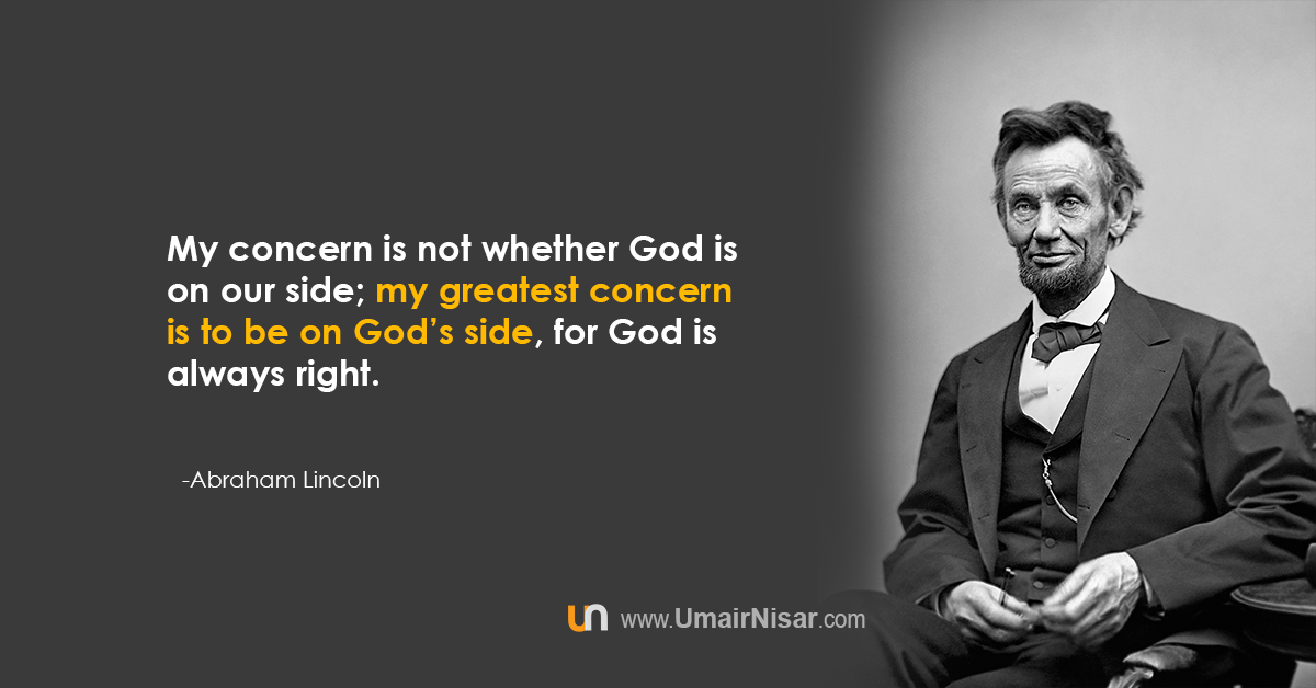 abraham lincoln quotes about life