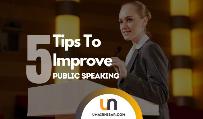 effective public speaking tips