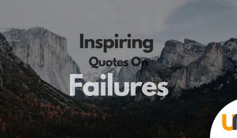inspiring quotes on failure