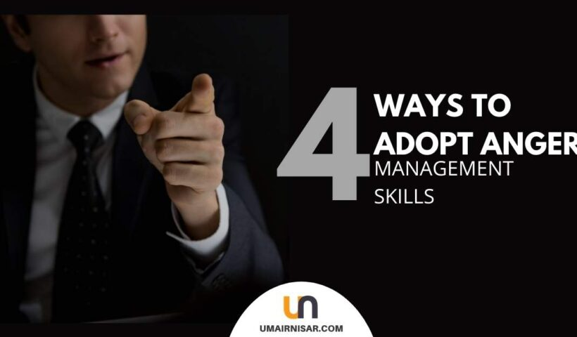 how to adopt anger management skills