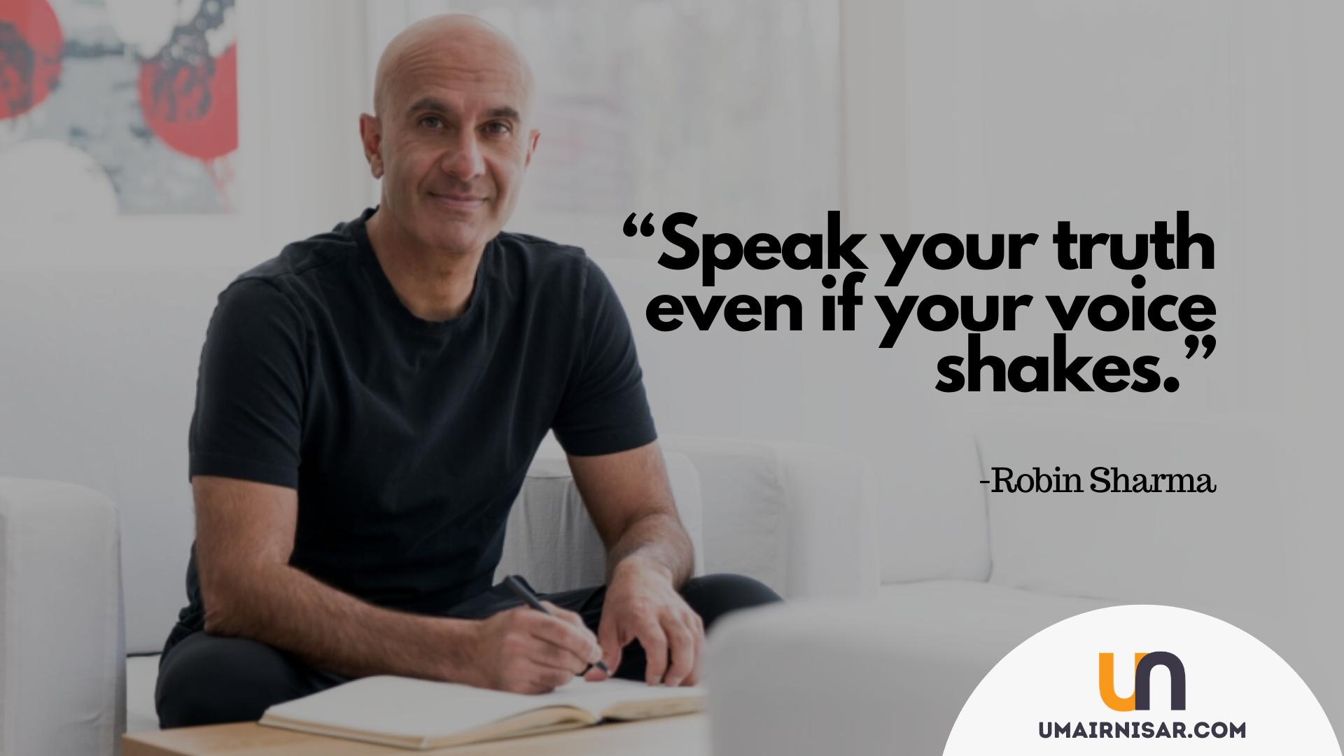 Inspirational Robin Sharma Quotes