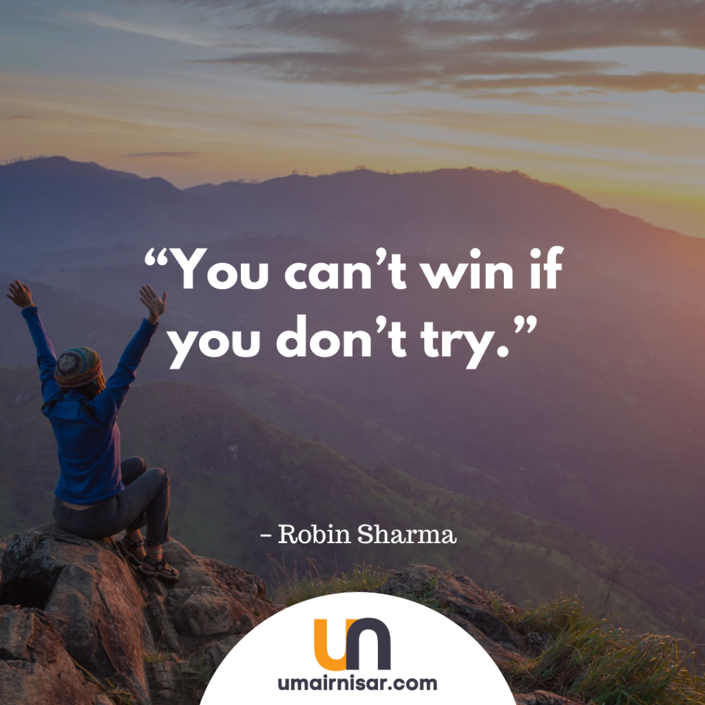 risk robin sharma quotes