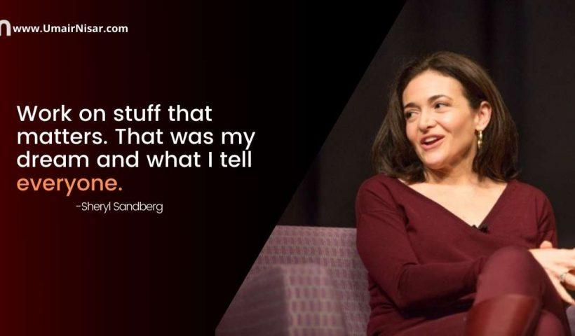 Sheryl Sandberg Quotes